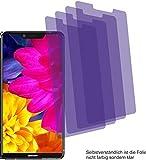 4ProTec I 4X Crystal Clear klar Schutzfolie für Sharp Aquos D10 Bildschirmschutzfolie Displayschutzfolie Schutzhülle Bildschirmschutz Bildschirmfolie Folie