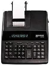 $75 » Monroe Systems for Business 6120X 12-Digit Business Medium Duty Calculator, Black (Renewed)
