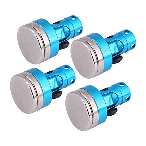 Dilwe 4Pcs RC magnetische Stealth, Metall magnetische Stealth Shell Körper Beitrag für CC01 / AXIAL / SCX10 HSP 02010 1:10 Auto
