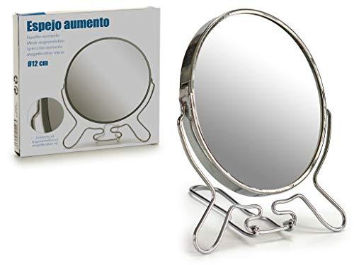 AR Miroir en Aluminium Grossissement 15 x 13 cm, Plusieurs