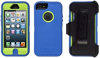 Otterbox Defender Series Case for Apple iPhone 5 - Blue / Lime Green - 77-22891