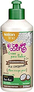 Salon Line Creme para Pentear 300 ml Coco Todecacho Unit