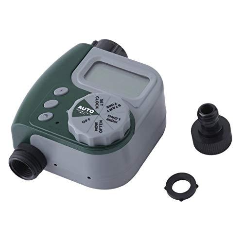 Cloverclover Zeitschaltuhr für Bewässerungsanlage, für den Außenbereich, Grün