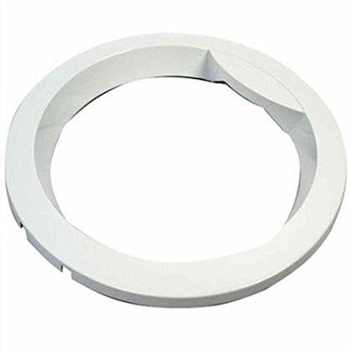 Spares2go extérieure Cadre de porte pour Haier machine à laver (Blanc)