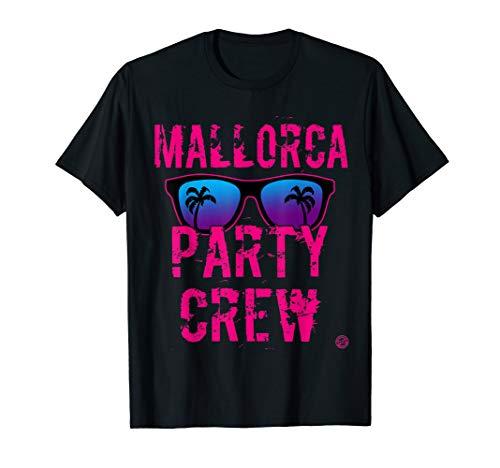 MALLORCA PARTY CREW T Shirt Damen PINK - Malle Shirt Frauen T-Shirt