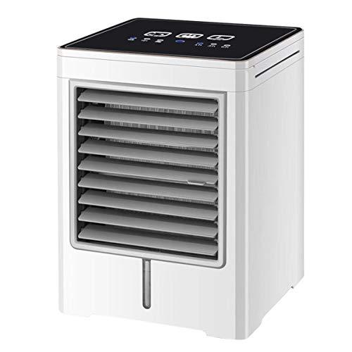 QAZ Touch screen mini luchtkoeler Draagbare desktop usb koude ventilator thuis kleine watergekoelde airconditioning ventilator airconditioner