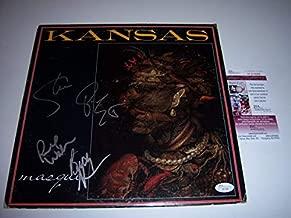 Kansas Masque 4/Signatures JSA Autographed Signed Lp Record Album