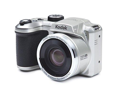 Kodak PIXPRO AZ251 Cámara Puente 16 MP 1/2.3' CCD 4608 x 3456 Pixeles Negro, Plata - Cámara Digital (16 MP, 4608 x 3456 Pixeles, CCD, 25x, HD-Ready, Negro, Plata)