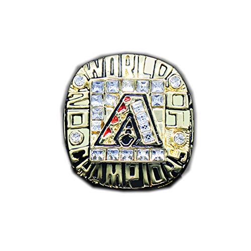 Fei Fei MLB 2001 Championship Ring Fan Alloy Ring Campione Anello Uomo Campionato Collezione Commemorativa Anelli da Uomo,Without Box,11