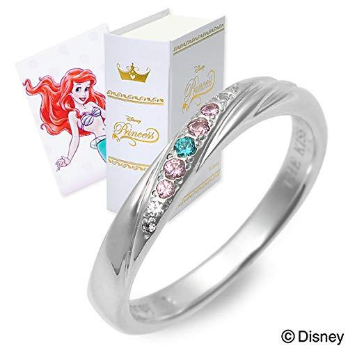 [ザ・キッス] Disney シルバー リング 指輪 婚約指輪 結婚指輪 エンゲージリング レディース ディズニー 7.0号 DI-SR2404CB-7