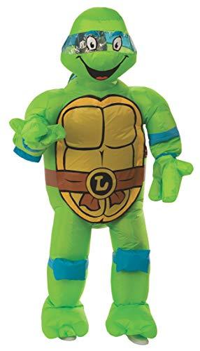 Rubie's mens Teenage Mutant Ninja Turtles Leonardo Inflatable Adult Sized Costume, As Shown, One Size US