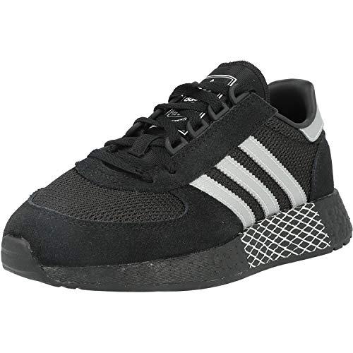 Marathon Tech Zapatos Deportivos para Hombre Negro EF4398 42 23 EU