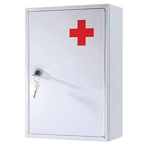 emergency First Aid Medical cabinet box bianco