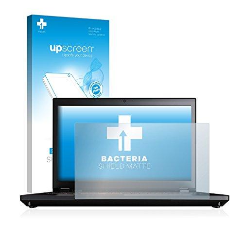 upscreen Antibakterielle Entspiegelungs-Schutzfolie kompatibel mit Lenovo ThinkPad P71 - Anti-Reflex Bildschirmschutzfolie matt, Anti-Fingerprint