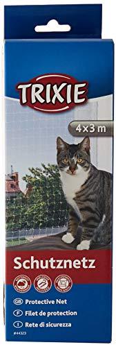 Trixie 44323 Schutznetz, 4 × 3 m, transparent