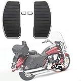 Artudatech Reposapies Moto Delantero, Metal Estribo Moto Reposapiés Moto Clavija Motocicleta Foot Rest para H-O-N-D-A VTX 1800 1300, para Yamaha V-STAR XVS400 XV250