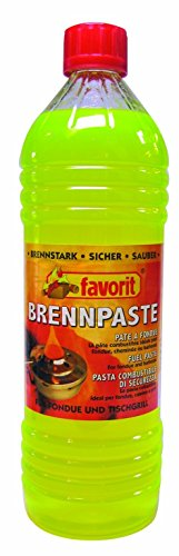 Favorit 1805 Brennpaste (6 x 1 Liter)