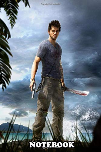 Notebook: Far Cry 3 Jason Brody , Journal for Writing, College Ruled Size 6' x 9', 110 Pages