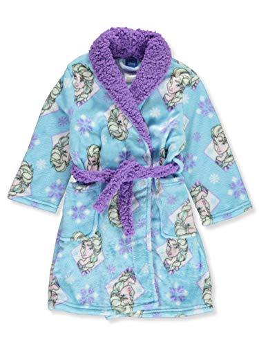 Disney Girls' Toddler Frozen 2 Luxe Plush Robe, 2T
