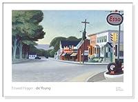 ポスター エドワード ホッパー Portrait of Orleans 1950