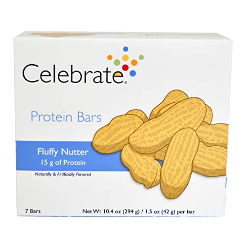Celebrate Fluffy Nutter Protein Bars - 7 Count
