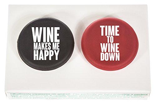 Kool Kitchen Essentials Wein Sekt Bier Flaschenverschluss Flaschenstopfen Wein Geschenk fur Geburtstage und Feiern Mitbringsel fur Weinliebhaber