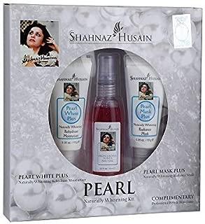 Shahnaz Husain White Pearl Herbal Ayurvedic Skin Care Kit Latest International Packaging (0.7 oz / 20 g)