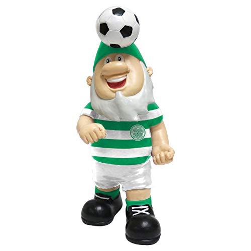 FOCO Celtic FC Football Premier League Championship Header Ball Garden Gnome Ornament Indoor/Outdoor