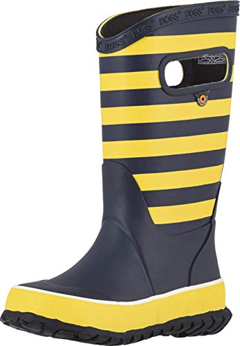 BOGS Boy's Rain Boots Rugby (Toddler/Little Kid/Big Kid) Yellow Multi 6 Big Kid M