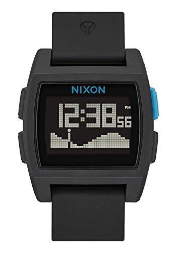 Nixon Unisex Erwachsene Digital Uhr mit Polycarbonat Armband A1104-018-00