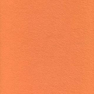 Printed Fleece Fabric - 2 Yards (Solid - Orange)