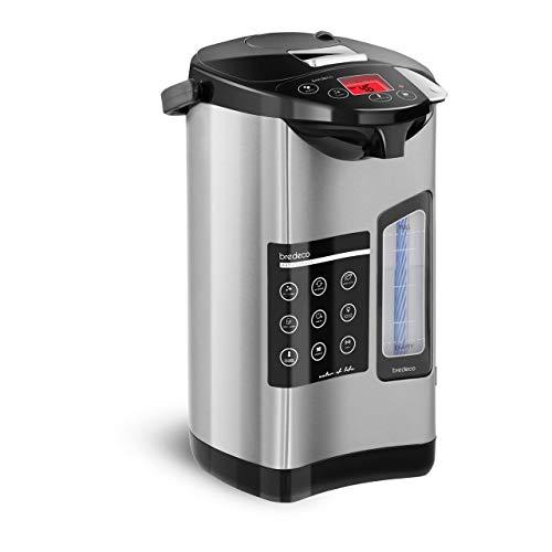 Bredeco Termo Dispensador Eléctrico De Agua BCTP-5-L (Acero Inoxidable, Rango Temperatura 40-100...