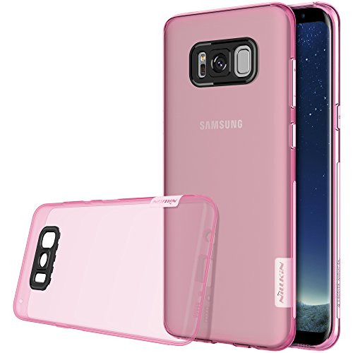 Nillkin Nature Custodia per Samsung Galaxy S8+, Rosa