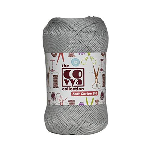 KACHVI 100% algodón 8/4 Ply Yarn Thread Balls for Knitting Crochet Home...