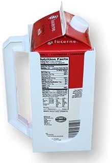 Carton Caddy XL Milk Holder, Juice Holder, 1/2 Gallon Carton Holder