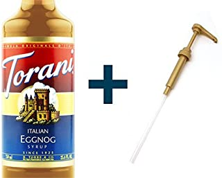 Torani Italian Eggnog & Syrup Pump Combo