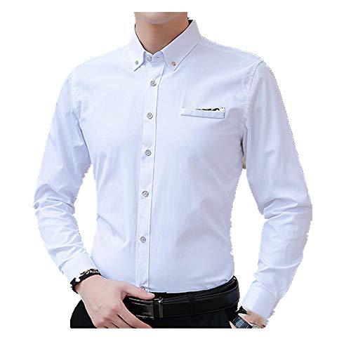 NOBRAND - Camisa de manga larga transpirable para hombre