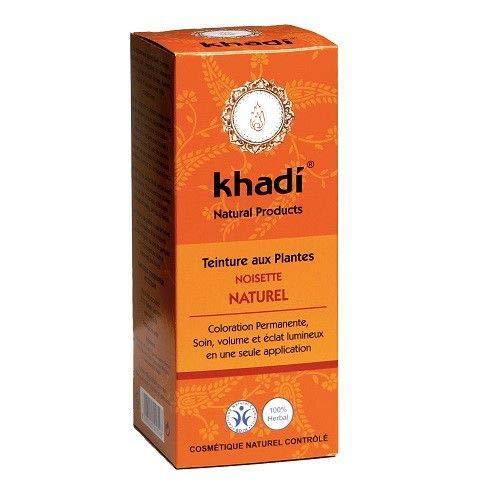Khadi - Coloration Végétale Noisette Naturel 100G Bio - Vendu Par Unité - Livraison Gratuite en France