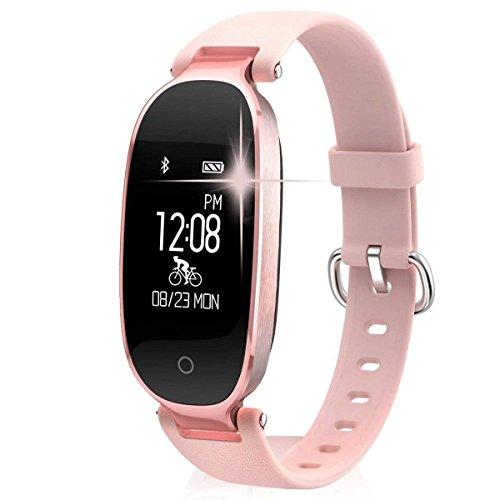 Huoqilin Smartwatch, fitnesstracker, hartslagmonitor, stappenteller, waterdicht, bluetooth, stappenteller, slaapmonitor
