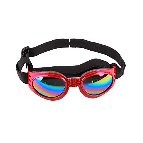 Catkoo Zubehör für Hunde, Faltbare Sonnenbrille, für Hunde, Anti-Shock Gehörschutz Anti-Shock Gehen von Vento Pet Supplies - Gelb