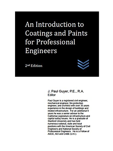 An Introduction to Coatings and Paints for Professional Engineers (Architecture) (English Edition)
