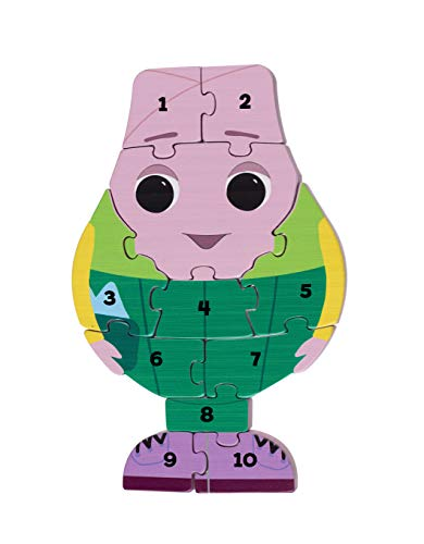 Orange Tree Toys Mond & Me Mr Onion Zahlenpuzzle