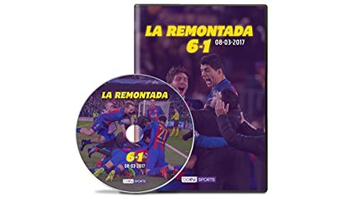 LA REMONTADA 6-1 08-03-2017 FC Barcelona - PSG DVD