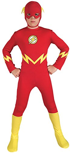 Rubies Justice League DC Comics The Flash Child Costume (Medium) $9.99 - Amazon