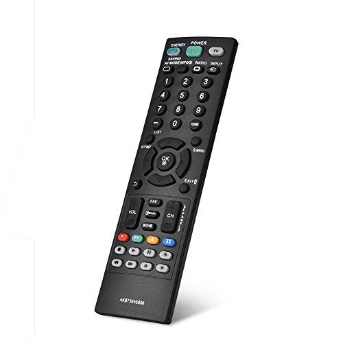 Zunate Télécommande pour LG - s'adapte à Différents Modèles pour LG - Elle Couvre Presque Toutes Les Fonctions de la Télécommande d'origine