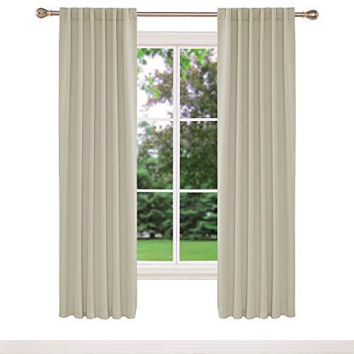 cortinas habitacion matrimonio beige