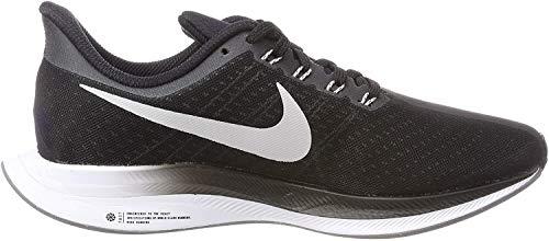 Nike Zoom Pegasus 35 Turbo, Zapatillas de Running para Hombre, Multicolor (Black/Vast Grey/Oil Grey/Gunsmoke 001), 44 EU
