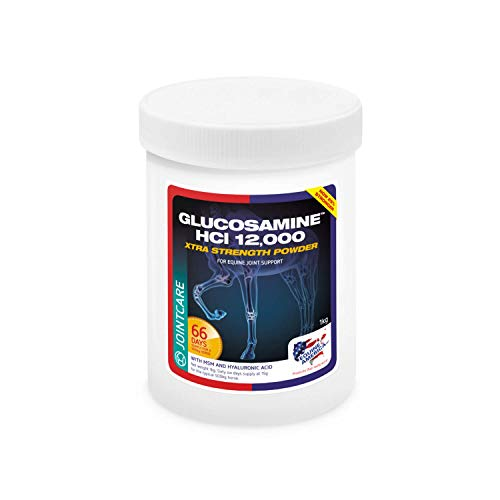 Equine America Glucosamine HCI 12000 | Premium Ready To Use Horse & Pony Supplement | Support For Joints & Mobility | 1kg