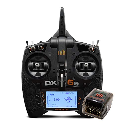 Spektrum DX6e 6-Channel 2.4GHz RC Radio Transmitter System DSMX DSM2