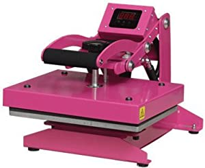 pink heat press review